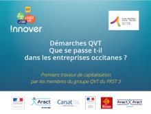 Démarches QVT Que se passe t-il dans les entreprises occitanes ?
